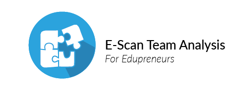 Based on the E-Scans of students also the strengths and weaknesses as a team can be measured. It indicates how powerful they are as a team.