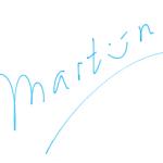 ondertekening Martijn