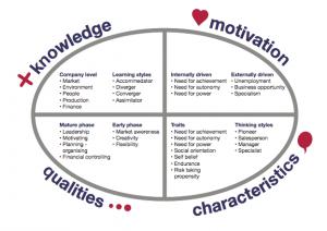 Entrepreneur Competence Model
