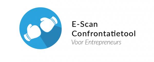 Met de E-Scan confrontatietool bepaalt de ondernemer zelf welke persoonlijke stappen en strategieën hij moet volgen voor succes.