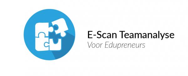 De Teamanalyse voor Edupreneurs meet op basis van de E-Scans van de teamleden ook de sterke en zwakke punten van het studententeam.