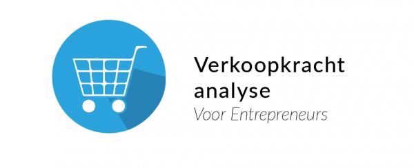 producten en diensten verkoopkracht analyse Entrepreneurs