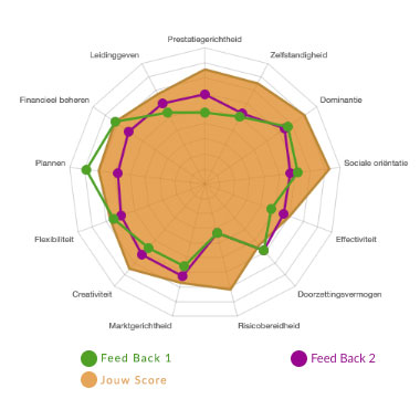 E-Scan ondernemingsplan feedback zelfkennis