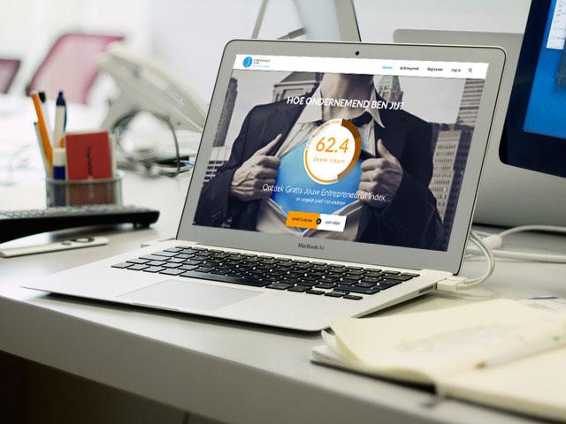 homepage Entreprneur Scan
