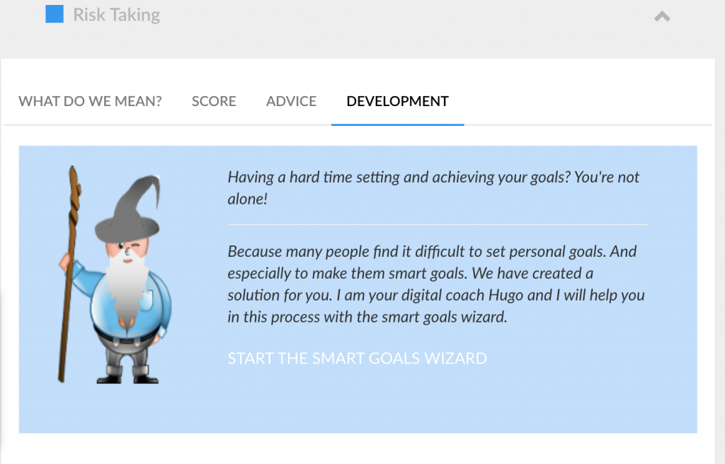 smart goals wizard for small business owners